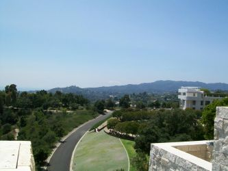 View From The Getty by MrMadPad