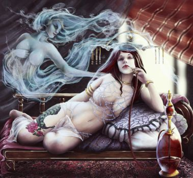 succubus dreams by RomanticFae