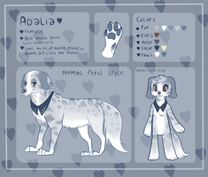 Adalia reference sheet by pomskies