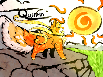Quintin: Okami Style by Bittter