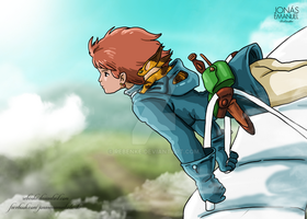 Nausicaa by rebenke