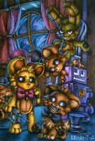 Little but Sinister ones / FNaF4 by Mizuki-T-A