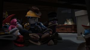 TF2: Shhhh, don't tell anybody... by Bielek