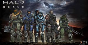 Halo reach noble team+ weapons by BlinkJisooXPS