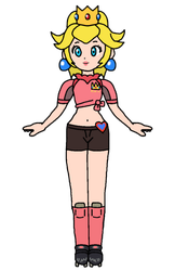 Peach - Strikers (Concept) by KatLime