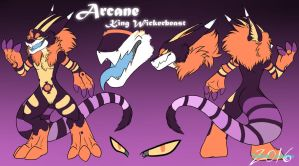 |Arcane King Wickerbeast| :Reference Sheet: by SafireCreations