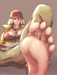 Dirty mechanic, clean feet by TicklishEscapee