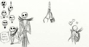 Nightmare Before Christmas Sketches by Reeves3