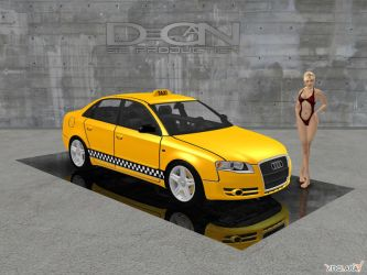 Audi A4 - Taxi Edition by DecanAndersen