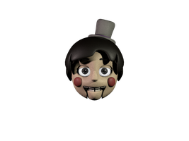 Toy Darl Head by 3D-Darlin