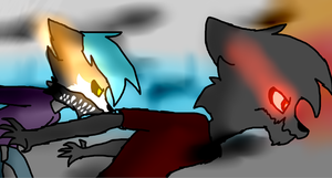 escape by blandy-wolf098YT