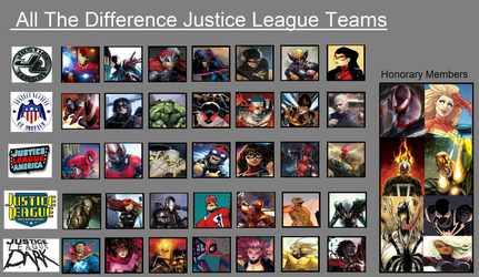Marvel Justice Leagues by antivenom907