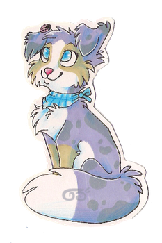 Marker badge for tiril by griffsnuff