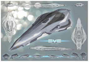 EVE Online Cruiser. by McGovernArts