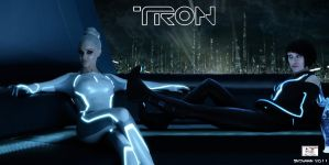 Tron - Gem and Quorra by TheSnowman10