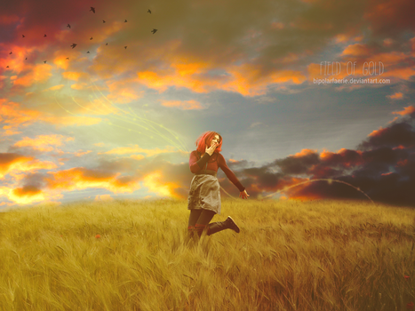 Field of Gold by bipolarfaerie