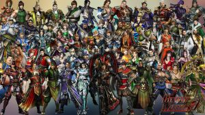 Dynasty Warriors 7 Characters by ShangShan3