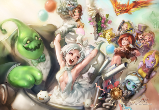 [Zac X Riven] We just got married! by ptcrow