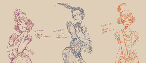 20's Girls by chacckco