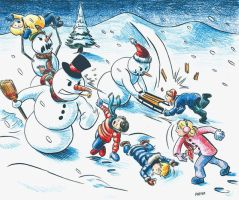 Rise of the Snowmen by discogangsta