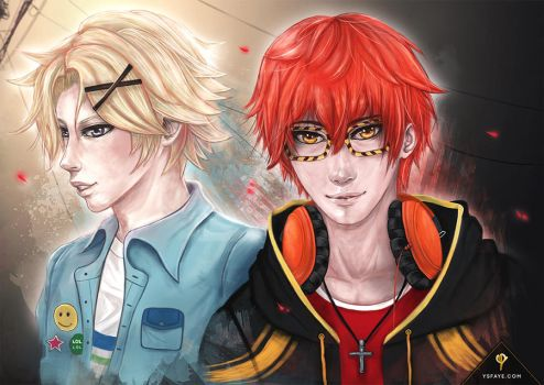 707 and Yoosung Commission by ysfaye