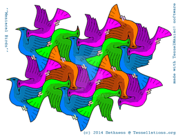 Maniacal birds tessellation by sethness