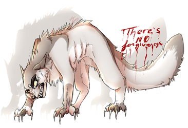 Theres no forgiveness by SkeletalKitten