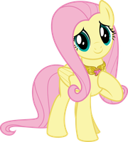 MLP Vector - Fluttershy #5 by jhayarr23