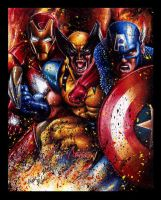 New Avengers Assemble by Twynsunz
