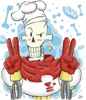 Master chef Papyrus by 2DarkSky2