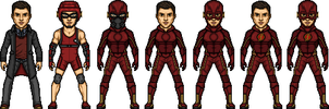 Barry Allen / The Flash by MicroManED
