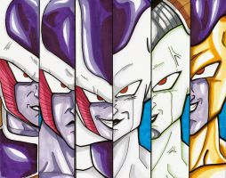 Lord Frieza by AzizSupremeArt