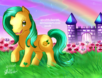 Every Day is a Dream Come True (G3 OC Buttercup) by stealthclaw96