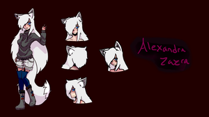 Alexandra Official Character Design by HalfBloodA7