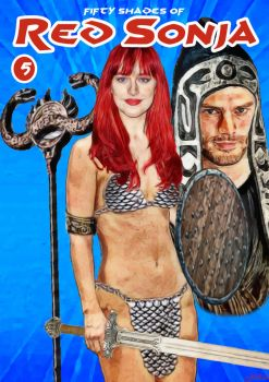 Fifty Shades of Red Sonja 5 by EscribaRegio