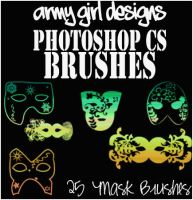 PS Mask Brushes AGD by armygirldesigns