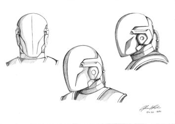 Combat Helmet v2 with shading effects by j3f3r20n
