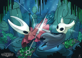 Hollow Knight: Hornet fight by mrGoK