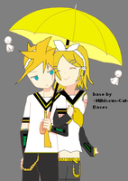My FIRST attempt at len rin by popstar4