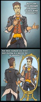 Philosophical thoughts from Handsome Jack by Lukael-Art