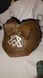 Leather chest piece by PracticalApplication