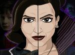 Once Upon A Time Duality - Regina Mills/Evil Queen by OptimumBuster