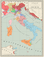 (AH) Italian Peninsula in 1494 by Maonsie
