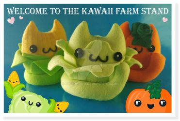 Welcome to the Kawaii Farm Stand by Elfedward