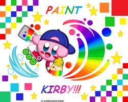 :Kirby: Paint - Hyper Rainbow!! by Plucky-Nova