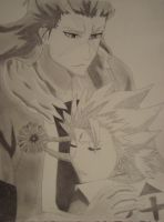 Hitsugaya and Hyorinmaru by NaturalAcoustic