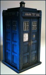 Hartnell Tardis miniature 3 by gfoyle