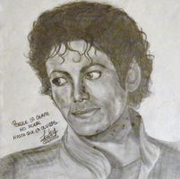 Michael Jackson ''Thriller'' Portrait/Retrato by Lucia-95RduS