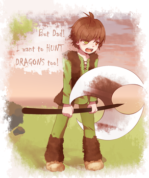 Little Hiccup by Koki-arts