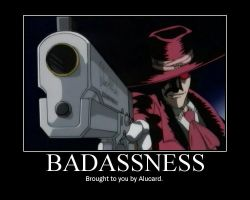 Badass Equals Alucard by Pashchan